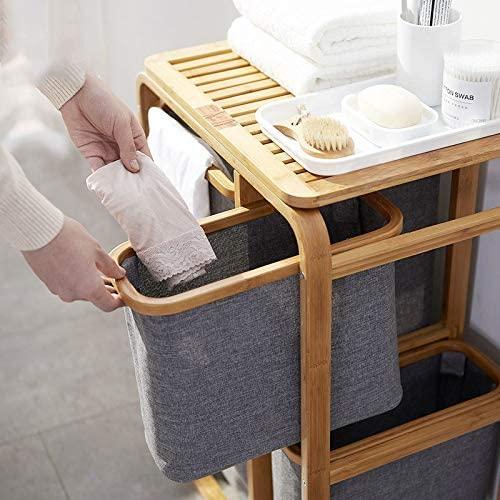 Cestos para ropa sucia modernos con compartimentos