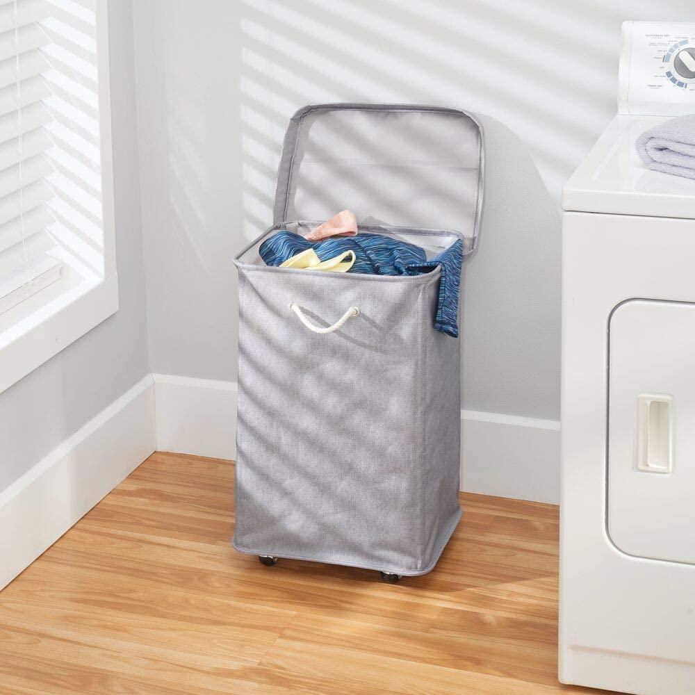 Cesto ropa sucia con ruedas