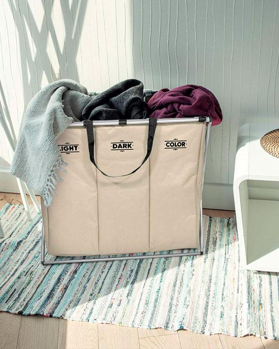 Cestas para la ropa sucia clasificadoras