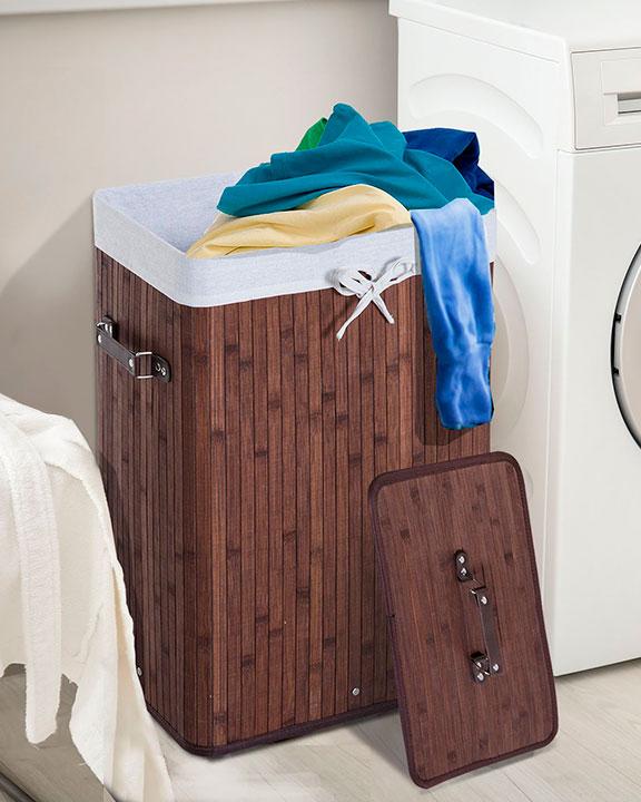 Cestos de ropa sucia con tapa